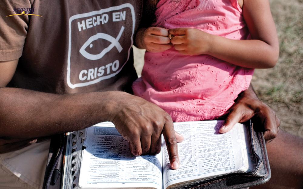 성경을 펼 수 있는 특권