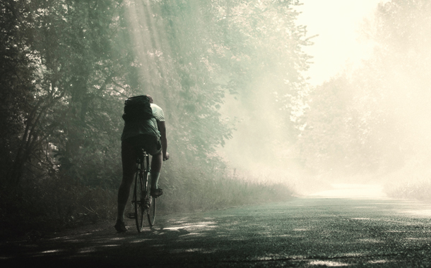 자전거 탄 천사