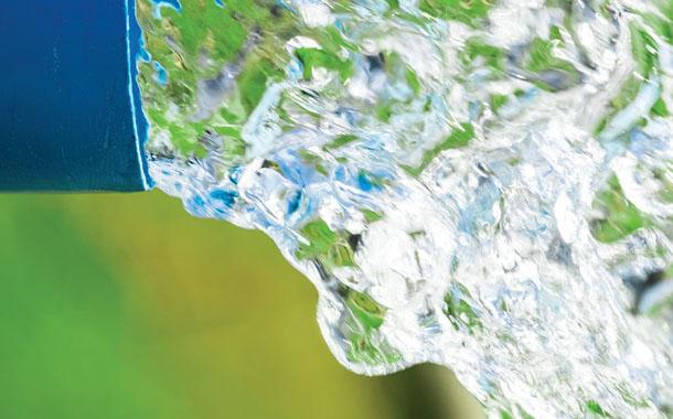 물탱크 속에서 솟은 샘