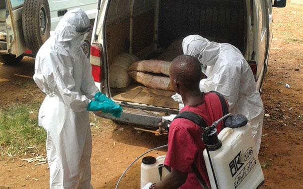 아드라, 에볼라 발생 현장에서 양양실조 어린이 구호