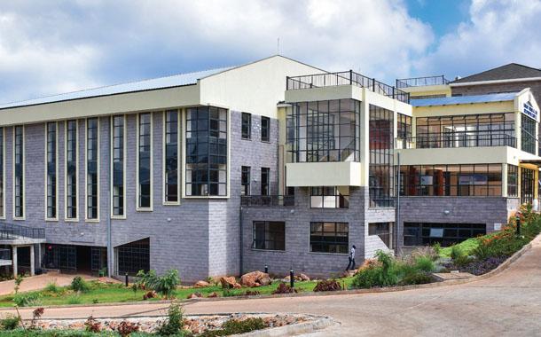아프리카 재림교회 대학에 다목적관 신축